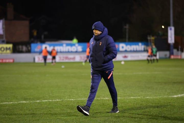 Mourinho's Tottenham beat Marine in the FA Cup on Sunday