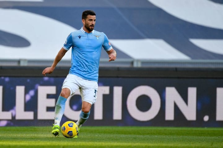 Mateo Musacchio of SS Lazio seen in action during the...