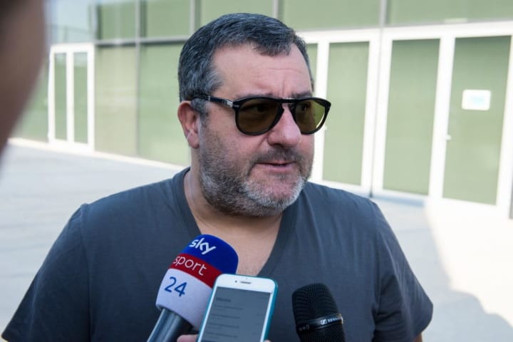 Mino Raiola is well known for being outspoken