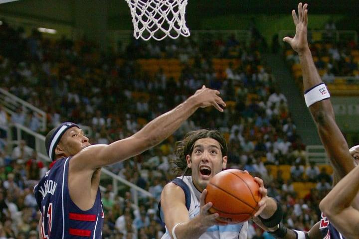Luis Scola EUA Argentina