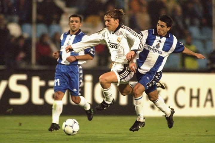 Michel Salgado of Real Madrid