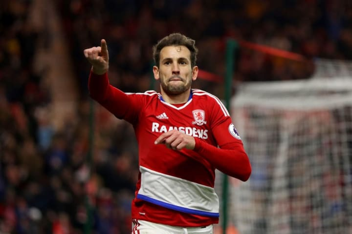 Cristhian Stuani received as many yellow cards as he scored goals in his single Premier League season