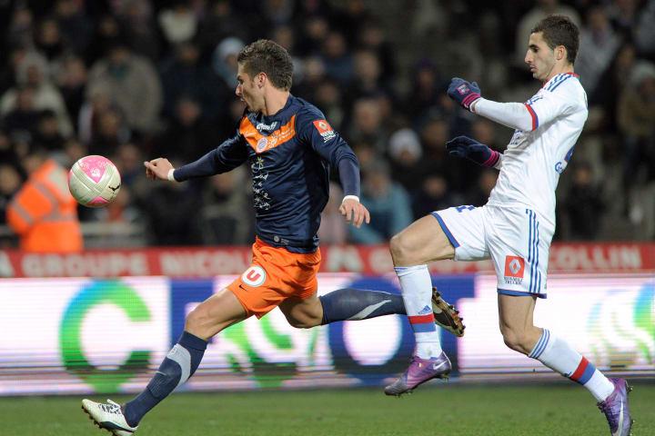 Montpellier's French forward Olivier Gir