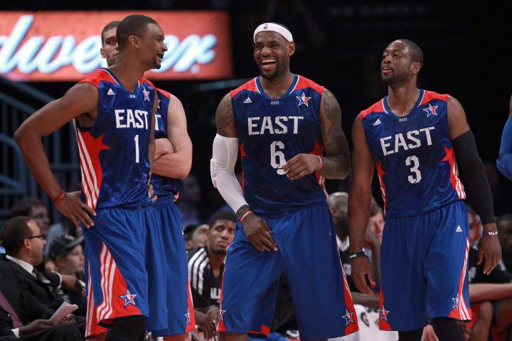LeBron James, Chris Bosh, Dwyane Wade