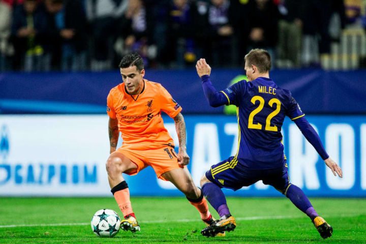 NK Maribor vs Liverpool - UEFA Champions League 2017/18