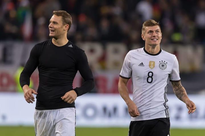 Manuel Neuer, Toni Kroos