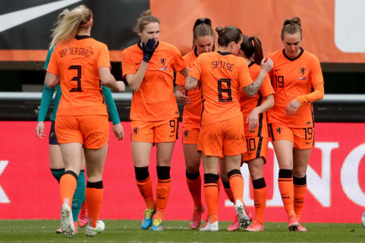 An impressive Netherlands are up into the top three