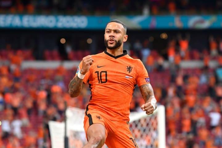 Memphis Depay Holanda Áustria Euro Eurocopa