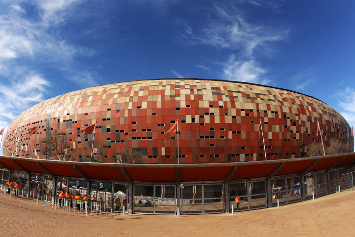 It was the main headline venue for the 2010 World Cup