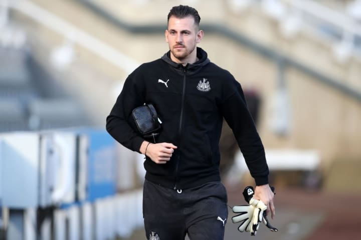 Dubravka appears to be some time away from a return