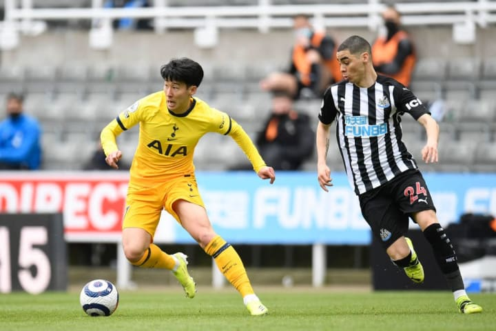 Son Heung-Min, Miguel Almiron