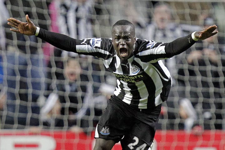 Newcastle United's Ivorian midfielder Ch