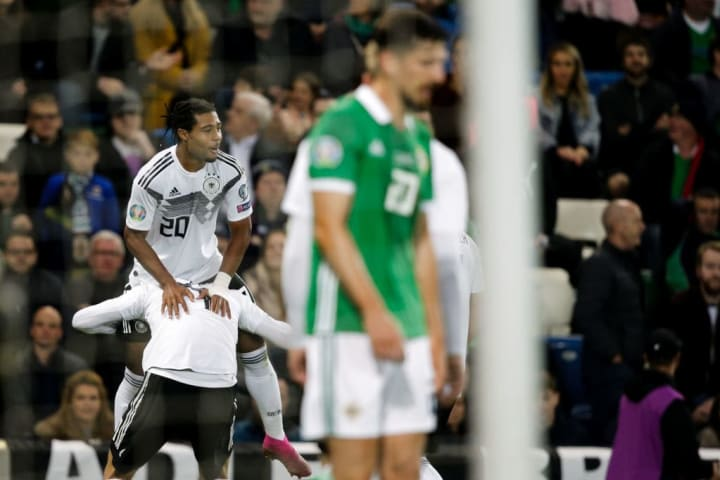 Germany breezed through their qualifying group which contained Northern Ireland