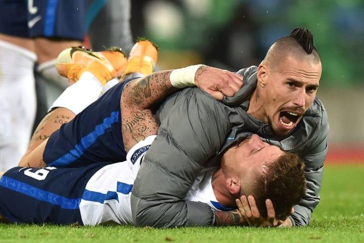 Slovakia beat Northern Ireland in the playoffs