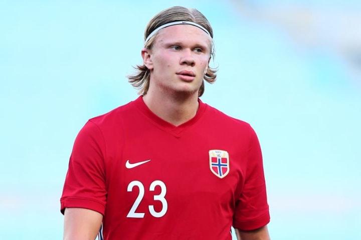 Norway forward Erling Haaland is on Chelsea's radar