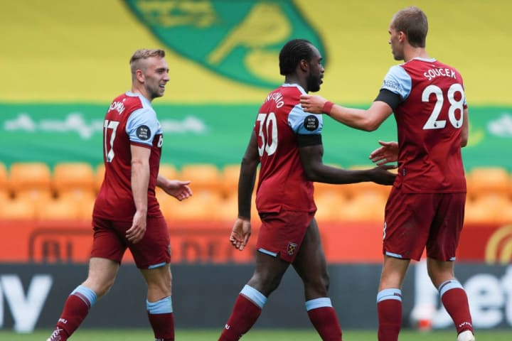 West Ham took a big step towards survival with victory over Norwich