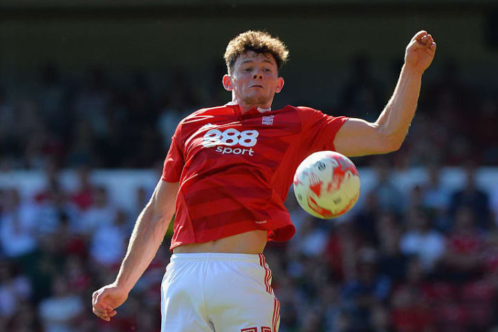 Oliver Burke came through the Nottingham Forest academy before moving to RB Leipzig in 2016