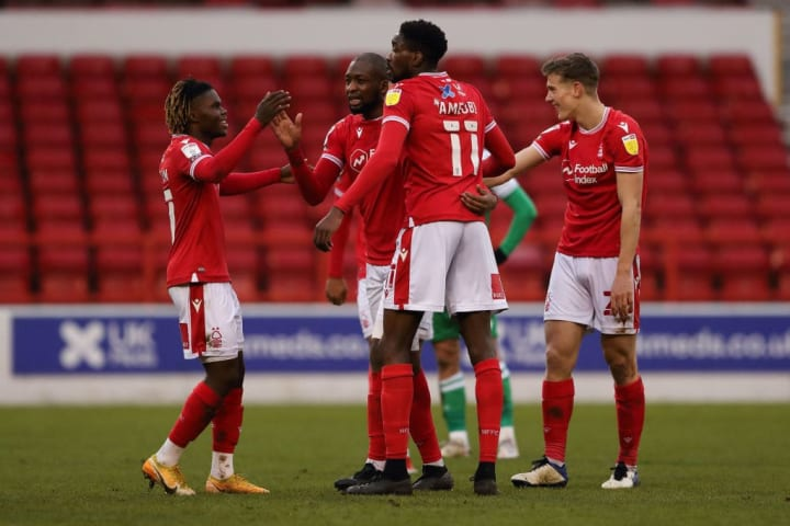 Nottingham Forest are distancing themselves from the bottom three
