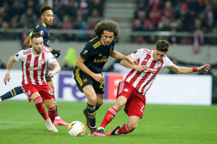 Olympiacos FC v Arsenal FC - UEFA Europa League Round of 32: First Leg