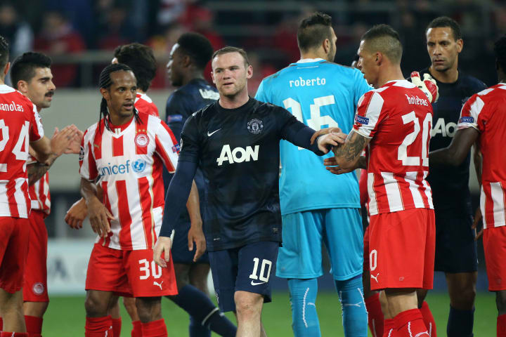 United were left wanting by Olympiacos in 2014