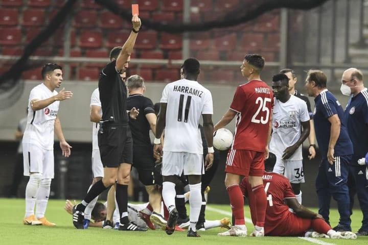 Olympiacos F.C vs Neftchi - UEFA Champions League