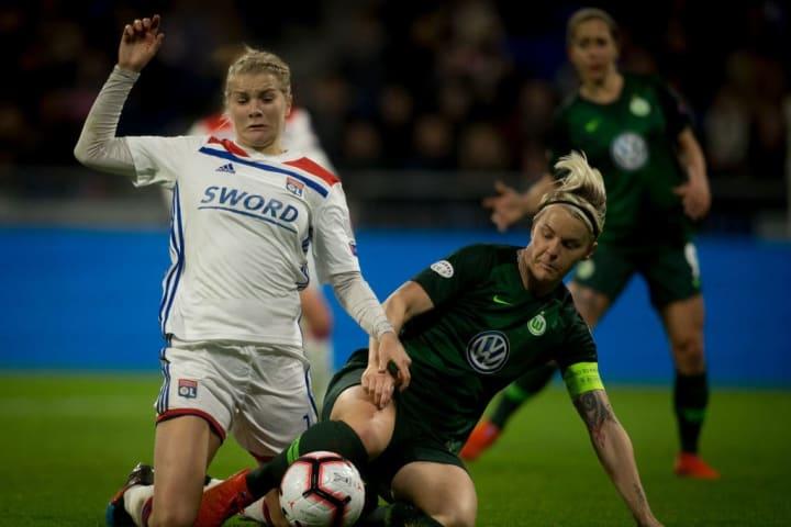 Ada Hegerberg, Nilla Fischer