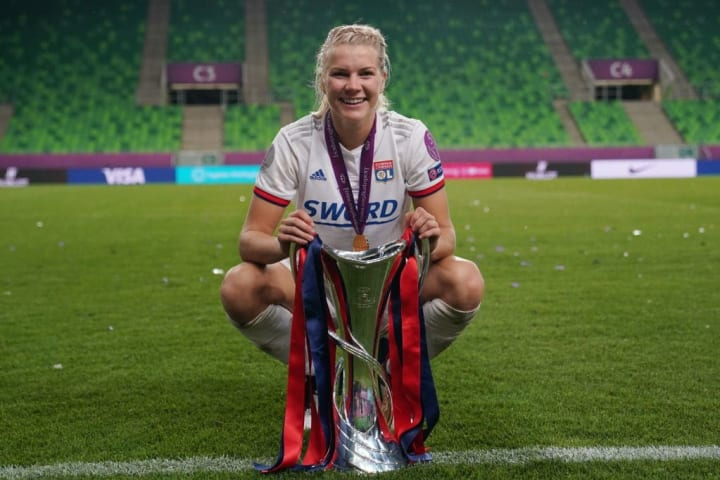 Hegerberg was the hat-trick hero in the 2018/19 final