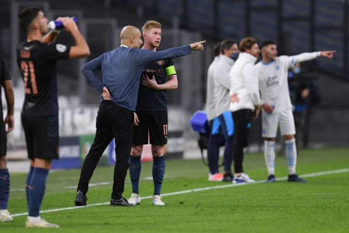 Pep Guardiola hatte gegen Marseille nur wenige Einwände