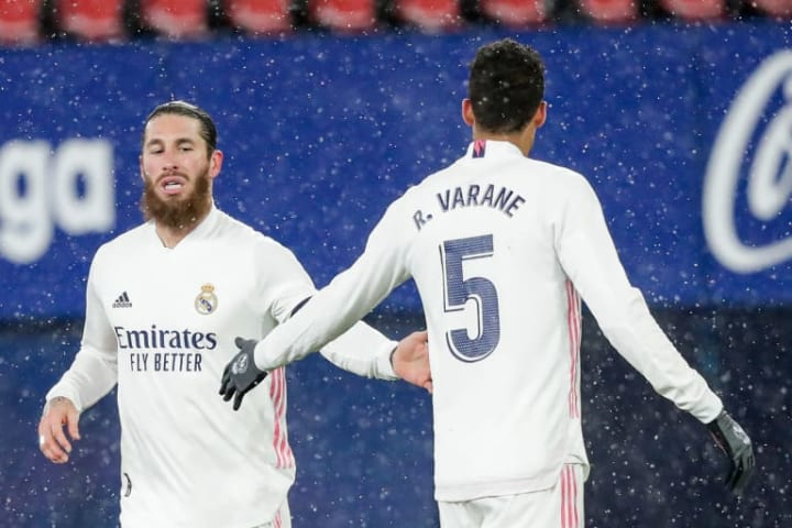 Real Madrid pairing Sergio Ramos and Raphael Varane are said to be on the wish list of a number of European clubs