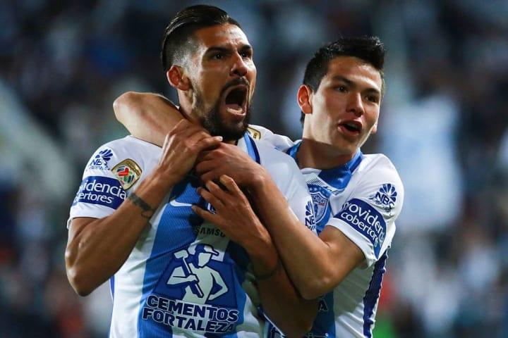 Jara y Lozano compartieron dos temporadas en los 'Tuzos', hasta que el mexicano fue vendido al PSV Eindhoven para la temporada 2017/18.