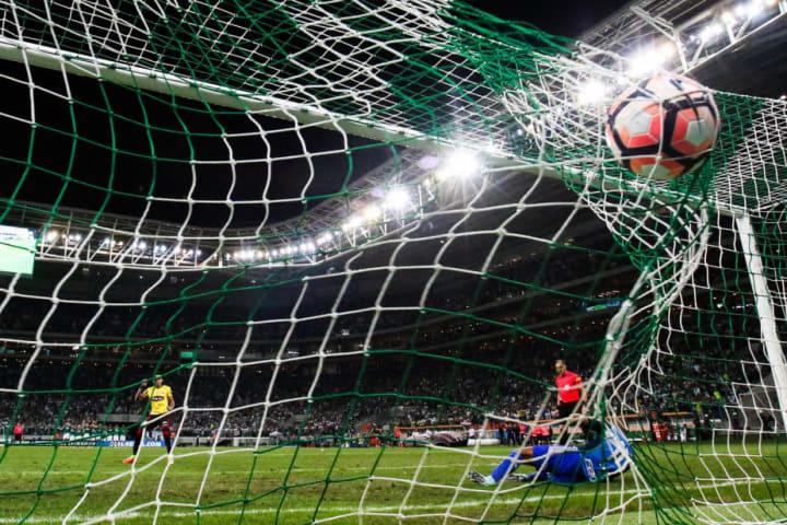 Dario Aimar Palmeiras Barcelona Eliminação Oitavas Libertadores 2011