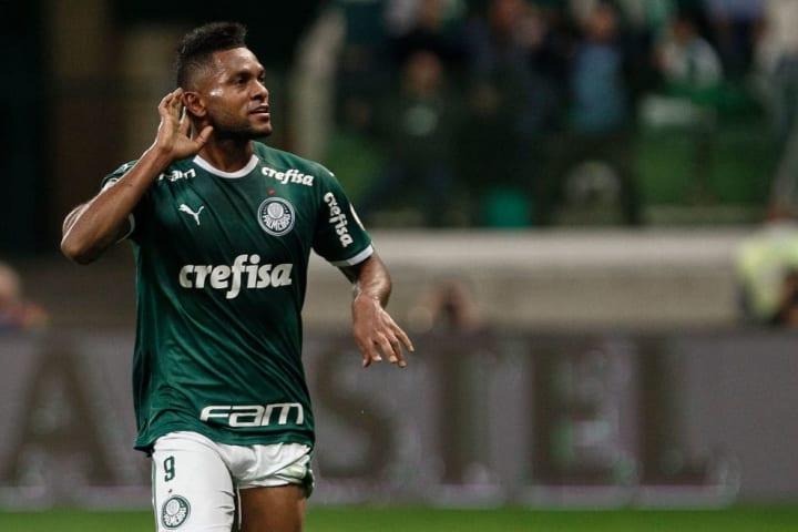Miguel Borja Grêmio Centroavante Palmeiras Mercado