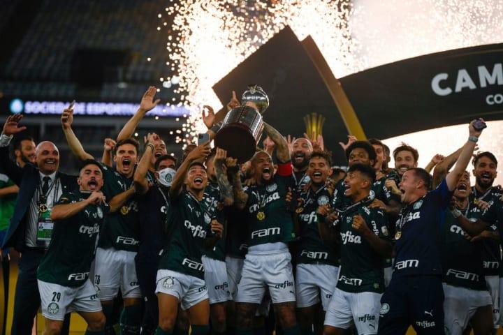 Palmeiras Troféu História Finais Libertadores Campeão 2020