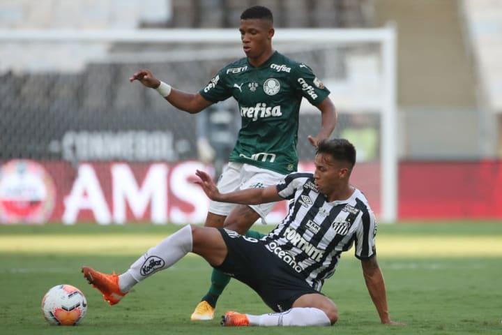 Palmeiras Santos Brasileiro