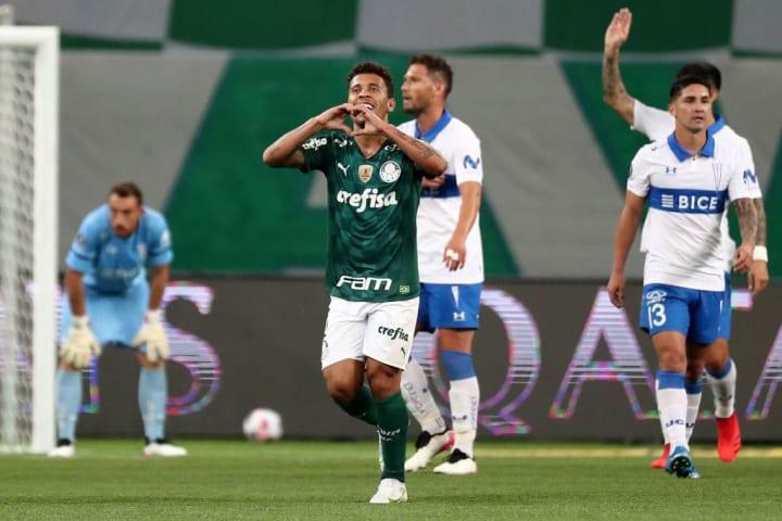 Marcos Rocha Palmeiras Seleção Oitavas Libertadores