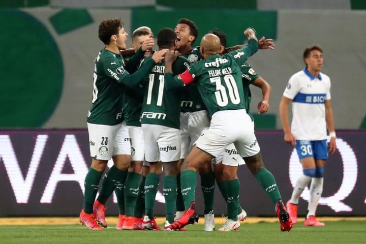 Marcos Rocha Palmeiras Gol Quartas de final Libertadores Curiosidade