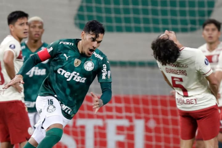 Gustavo Gómez Palmeiras Zagueiro Brasil