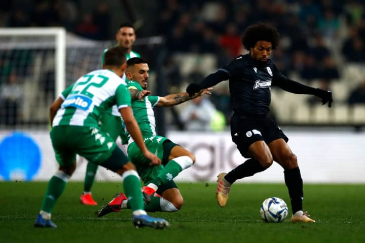 Panathinaikos are going strong in the Greek Super League