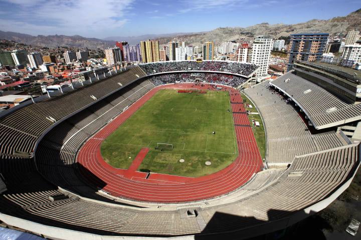 Estadio Hernando Siles is Bolivia's flagship stadium