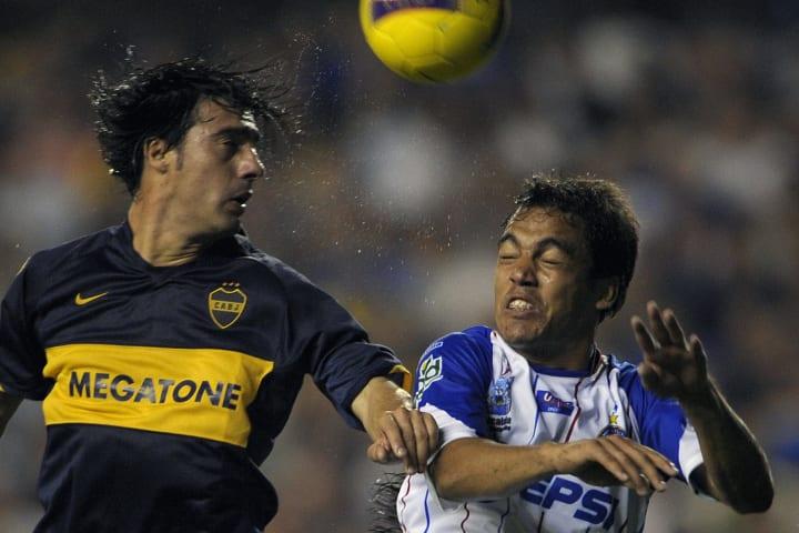 Paraguayan defender Julio Cesar Caceres