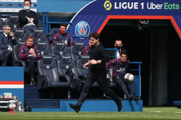Mauricio Pochettino PSG Metz Mbappé Manchester City
