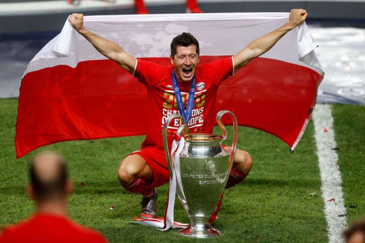 Robert Lewandowski has won everything possible with Bayern