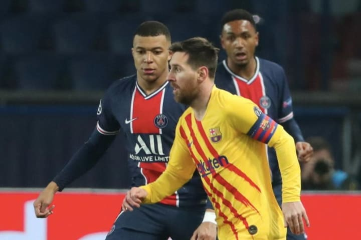 Kylian Mbappe, Lionel Messi