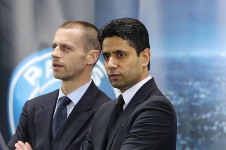 Nasser Al-Khelaifi, Aleksander Ceferin