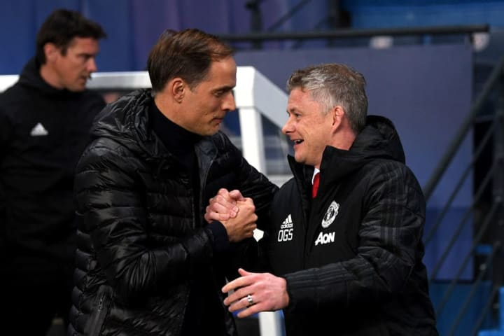 Tuchel and Solskjaer meet again on Sunday