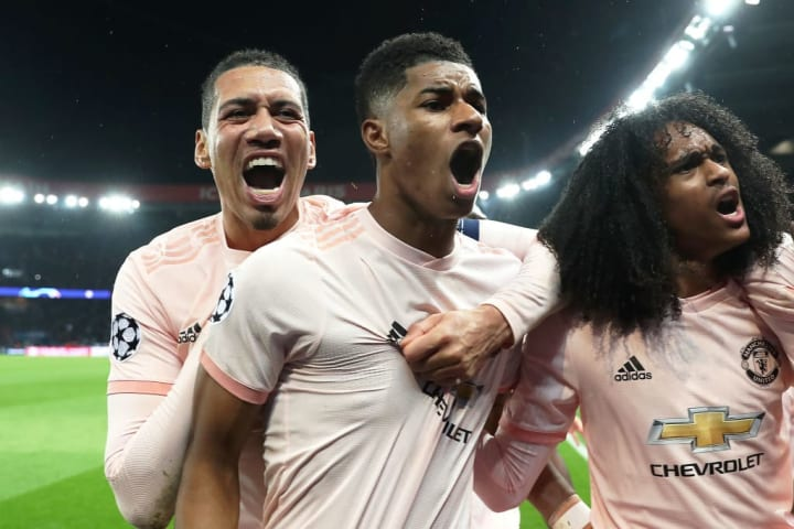 United staged a famous comeback to knock PSG out of the 2018/19 Champions League