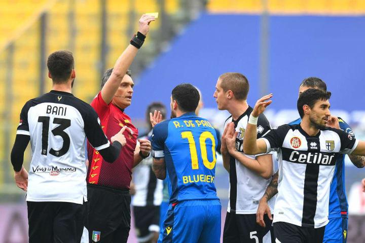 Massimiliano Irrati in Parma-Udinese
