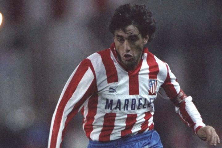Paulo Futre of Atletico Madrid