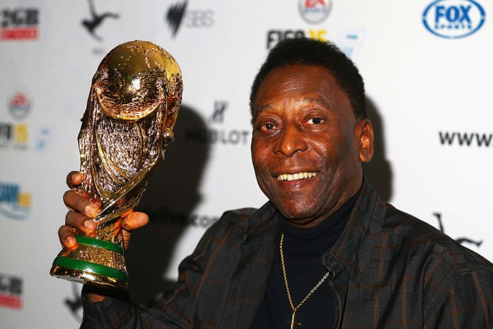 Parabéns, Pelé! Viva o Rei!