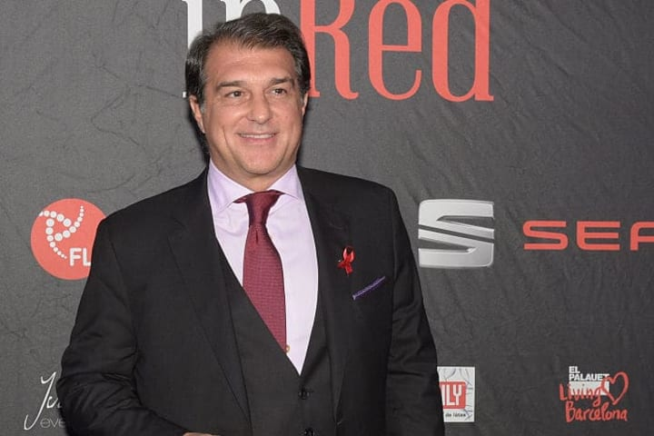 Joan Laporta is also in the running to become the new president of Barcelona